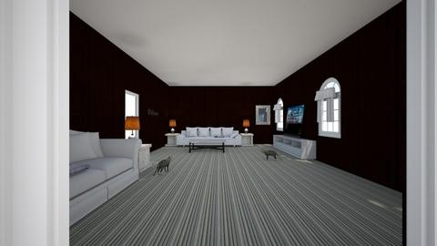 my new living room - Modern - Living room  - by JazzzMariee23