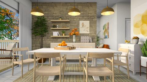 scandinavian dining room - by Tatjana113
