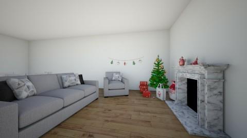 chrismas living room - Modern - Living room - by elisa sagie