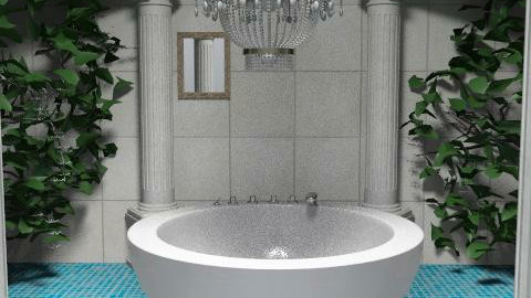 Luxury? I think so...? - Glamour - Bathroom  - by beckieh06
