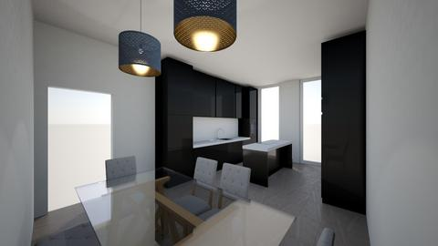kitchen modern - Modern - Kitchen  - by bo043
