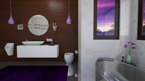 Lavender BR - Bathroom - by 2001blon