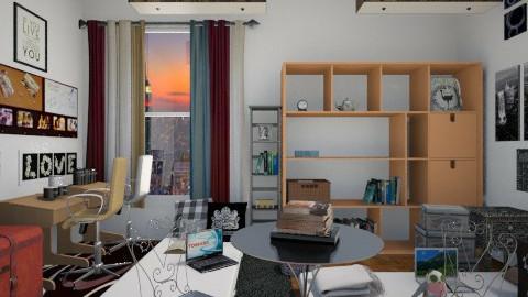 16 - Bedroom  - by sketchbookdesign
