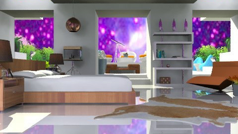 Heavenly Bodies - Modern - Bedroom  - by Open Spaces