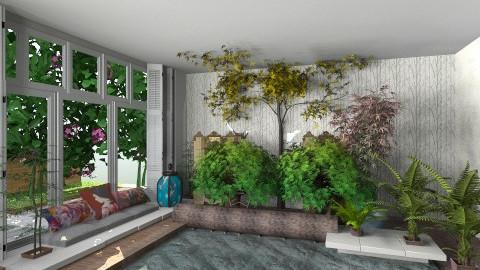 paradise - Glamour - Garden  - by emegabriela