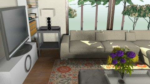 ici phase 5 block b1 - Country - Living room  - by mehar