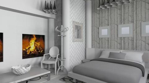winter ice - Minimal - Bedroom  - by aduropluvia