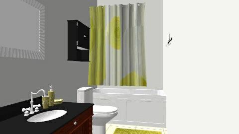 Roxys bathroom - Eclectic - Bathroom  - by Roxy767
