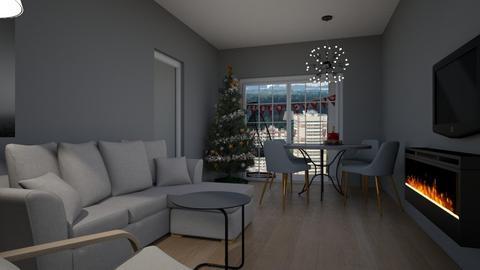 Cologno Xmas - Living room - by natanibelung