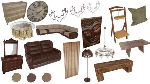 living room style I like - by DaltonK