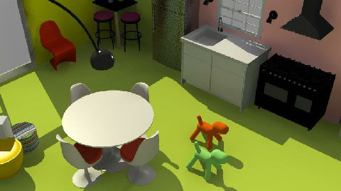 cucina - Dining Room  - by akileeloo