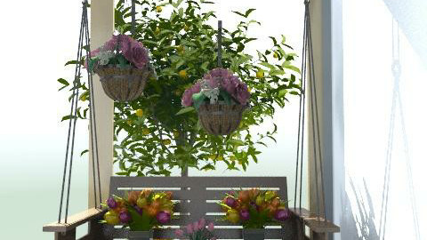 Indoor Garden ♥ - Rustic - by ilovedecorating14