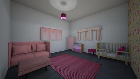 IslaHarlowbabygirlbedroom - Kids room - by Islaj
