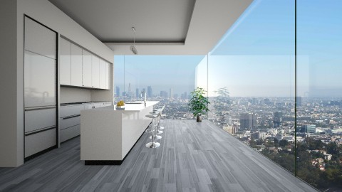 Kitchen LA - Modern - Kitchen  - by athenae