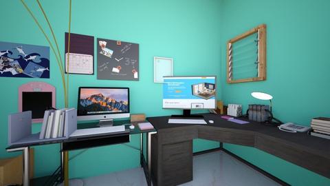 Ideal Office for Ella - Office  - by Arabbit__