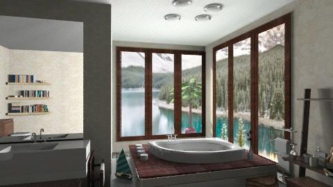 mij bath1 - Modern - Bathroom  - by JelenaS