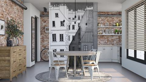 Wall - Dining room  - by Lizzy0715