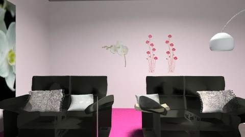 hththt - Glamour - Living room  - by vikikee