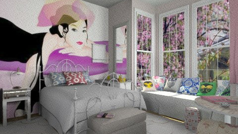 Girls room - Eclectic - Bedroom  - by milyca8