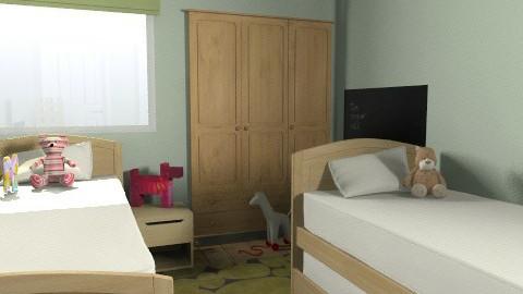 Sharmine Tharian idea 1 - Modern - Kids room  - by nonehpets