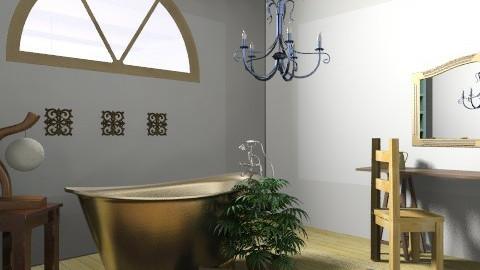 Cozy Bathroom - Rustic - Bathroom  - by coco_pps