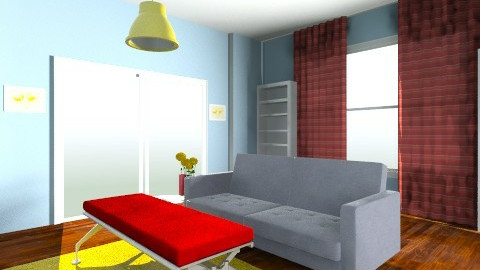 Loft living Analagous  - by jordan12367