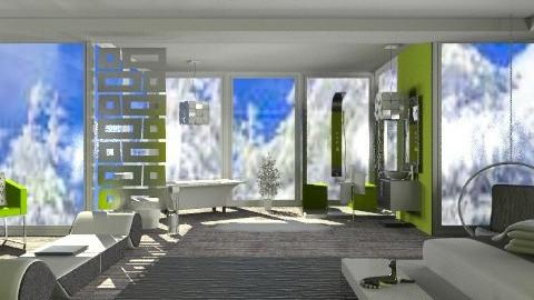 Telluride Winter Wonderland - Modern - Bedroom  - by Adrienne Danyel