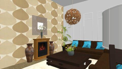 Retro 3 - Retro - Living room  - by Cathd0411