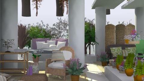 patio relax - Classic - Garden  - by ATELOIV87