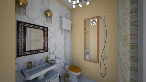 Moroccan bathroom - Bathroom - by TusaTimea