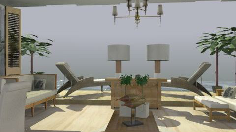 beach house 2 - Rustic - Living room  - by trees designs