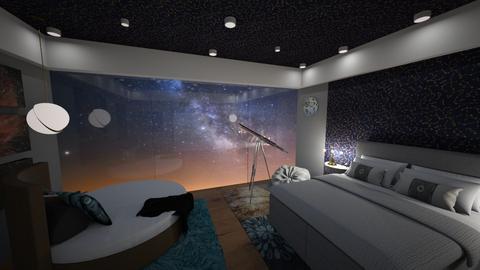 Night Sky - Bedroom  - by Jane Diane
