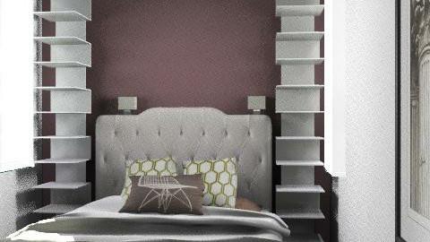 casa fabrice piso 2 - Retro - Bedroom  - by cibelles