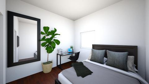 Nadz - Minimal - Bedroom  - by nadahousni