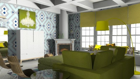 Etno  - Eclectic - Living room  - by ovchicha