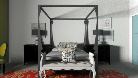 Bed - Eclectic - Bedroom  - by hunny