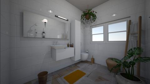 bathroom studio 2 new  - Minimal - by BlokhEphroni