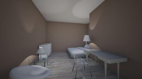 Room 1 - Modern - Bedroom  - by olivianelson