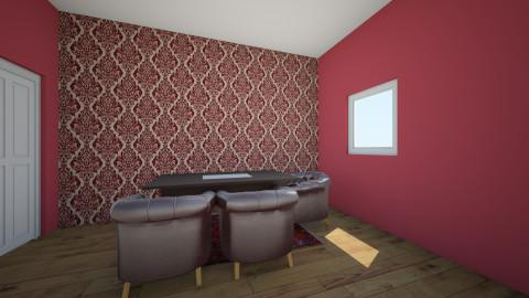 maroon kids room - Modern - Kids room  - by bluedolphin12
