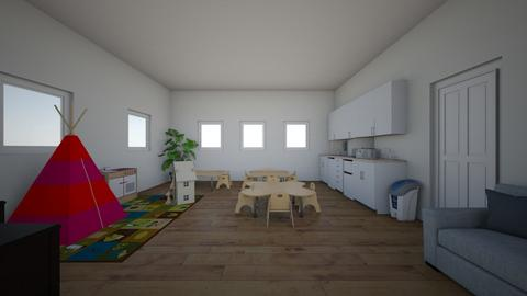 daycare room - Classic - Kids room  - by 339947