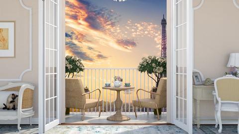Paris  - Living room  - by zozan