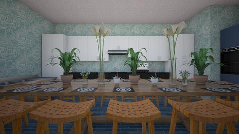 Fun dining - Kitchen  - by SunstarAquatic5Mountains