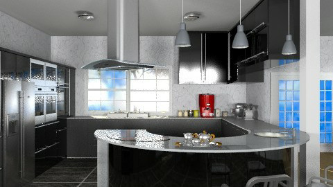 Kitchen - Modern - Kitchen  - by Bibiche