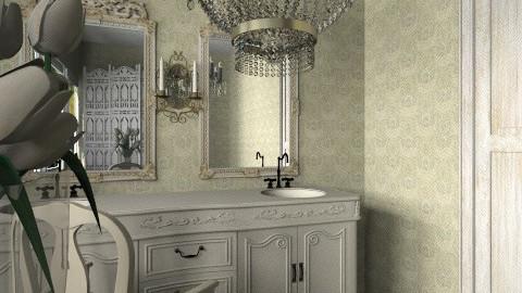 Rococo - Vintage - Bathroom  - by Ivana J