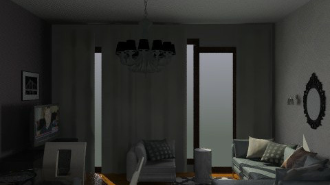 Lu finish withe - Glamour - Living room  - by Magdzik74
