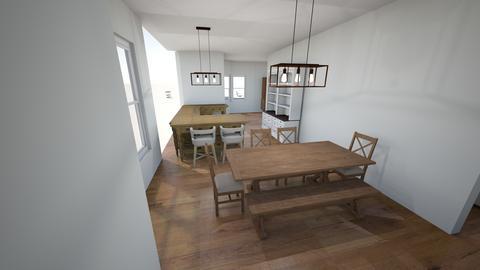 window to dining - Living room  - by trinasandberg