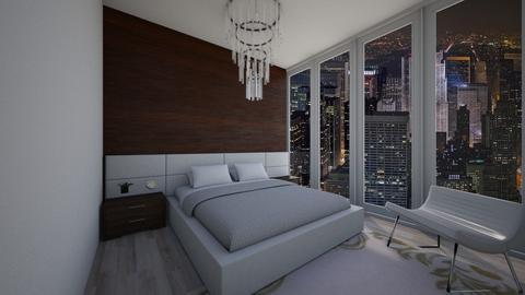 modernn bedroom - Bedroom - by Unfinished Sentenc