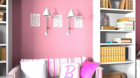 Barbie - Glamour - Kids room  - by Anna Rainbow