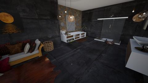nord - Rustic - Bathroom  - by GeorgiaElle