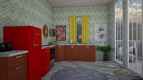 Eclectic Kitchen - Eclectic - Dining room - by deleted_1582859449_Applestyler